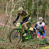 Brian McCarthy taking part in the Ennis CX Cyclocross Race in Lees Rd on Tuesday