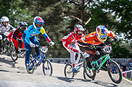 #148 (VAN GENDT Twan) NED at Round 5 of the 2018 UCI BMX Superscross World Cup in Zolder, Belgium