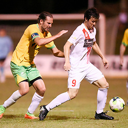 BRISBANE, AUSTRALIA - JANUARY 13:  during the Logan Inter City Cup match between Rochedale Rovers and Redlands United on January 13, 2018 in Brisbane, Australia. (Photo by Patrick Kearney)