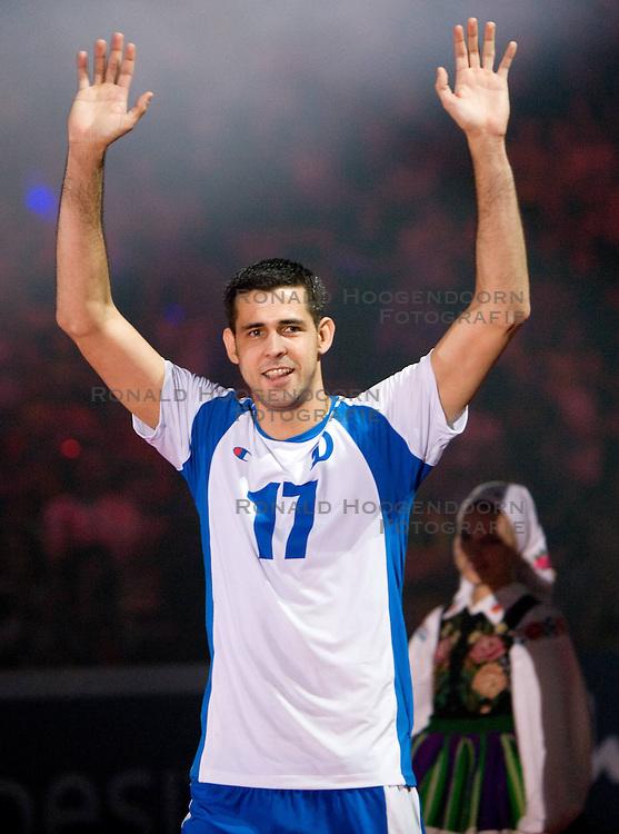 02-05-2010 VOLLEYBAL: FINAL 4 CHAMPIONS LEAGUE: LODZ<br /> Amaral Dante of Dinamo<br /> ©2010- FRH nph / Vid Ponikvar