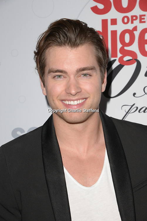 PIERSON FODE at Soap Opera Digest's 40th Anniversary party at The Argyle Hollywood in Los Angeles, California