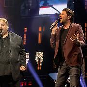 NLD/Amsterdam/20180414 - Holland Zingt Hazes 2018, Xander de Buisonje en Peter Beense