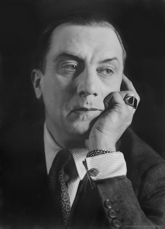 Ivan Mosjoukine, silent film actor, 1929