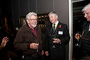 ROLF HARRIS; PROF JOHN MARSHALL, Fight For Sight evening reception. Philip Mould Gallery. Dover st. London. 3 November 2009