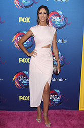 Fox Teen Choice Awards 2018. 12 Aug 2018 Pictured: Terri Seymour. Photo credit: Jaxon / MEGA TheMegaAgency.com +1 888 505 6342