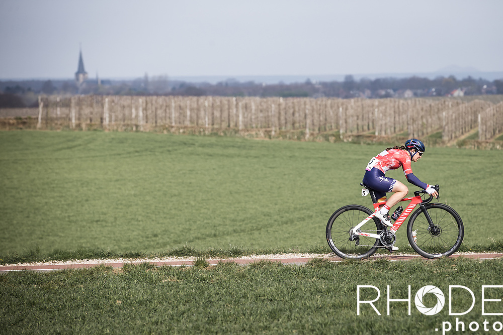 Elise Chabbey (SUI/Canyon Sram Racing)<br /> <br /> 7th Amstel Gold Race Ladies Edition <br /> Valkenburg > Valkenburg 116km<br /> <br /> ©RhodePhoto