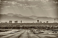 Las Vegas Valley from Hollywood Boulevard