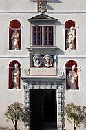 Main Entrance of Forchtenstein Castle,  Forchtenstein, Burgenland, Austria