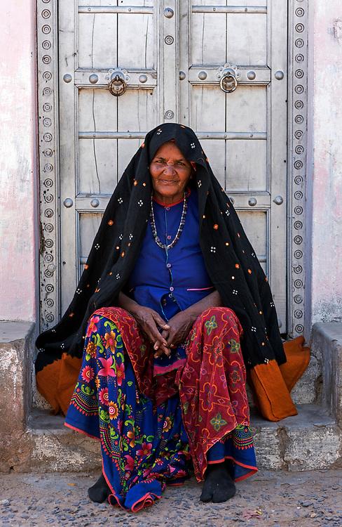 Rabari woman, Bhuj, Gujarat, India
