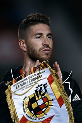 September 11, 2018 - Elche, Alicante, Spain - Sergio Ramos of Spain looks on prior to the UEFA Nations League A group four match between Spain and Croatia at Manuel Martinez Valero on September 11, 2018 in Elche, Spain  (Credit Image: © David Aliaga/NurPhoto/ZUMA Press)