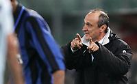 Delio rossi<br /> Lazio vs Inter<br /> Campionato di Calcio Serie A 2007/2008<br /> Stadio Olimpico, 29/03/2008<br /> Photo Antonietta Baldassarre Inside