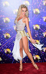 Nadia Bychkova arriving at the red carpet launch of Strictly Come Dancing 2019, held at BBC TV Centre in London, UK.