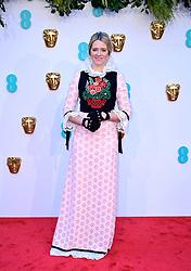 Edith Bowman attending the 72nd British Academy Film Awards held at the Royal Albert Hall, Kensington Gore, Kensington, London.
