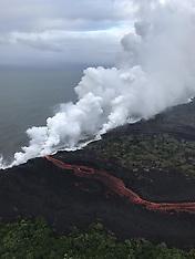 Eruption Of Kilauea Volcano Hawaii - 22 May 2018