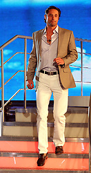 Prince Lorenzo Borghese leaves the Celebrity Big Brother House at Elstree Studios, Borehamwood, after being evicted.