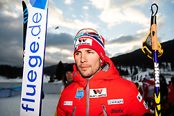 February 22, 2019 - Seefeld In Tirol, AUSTRIA - 190222 Jan Schmid of Norway after the men's nordic combined 10 km Individual Gundersen during the FIS Nordic World Ski Championships on February 22, 2019 in Seefeld in Tirol..Photo: Joel Marklund / BILDBYRÃ…N / kod JM / 87882 (Credit Image: © Joel Marklund/Bildbyran via ZUMA Press)