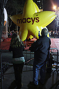Macy's Balloon at The Macy's Balloon Inflation session held at West 79th and Central Park West on November 26, 2008 in New York City..A tradition since 1927, the giant character balloons are slowly blown up and brought to life in the streets around the American Museum of Natural History. The enormous balloons take up two full city blocks. Nets and sandbags are used to keep the balloons from escaping during the night.