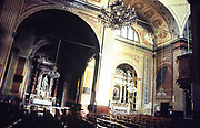 Cathedral of the Assumption of Saint Mary church, Ajaccio, Corsica, France in 1998 built between 1577 and 1593