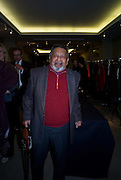 V.S. NAIPAUL, Master and Commanders by Andrew Roberts book launch. Sotheby's Bond Street . London. 13 October 2008 *** Local Caption *** -DO NOT ARCHIVE -Copyright Photograph by Dafydd Jones. 248 Clapham Rd. London SW9 0PZ. Tel 0207 820 0771. www.dafjones.com