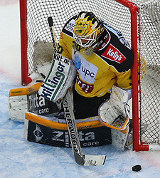 02.02.2016, Albert Schultz Eishalle, Wien, AUT, EBEL, UPC Vienna Capitals vs Dornbirner Eishockey Club, Platzierungsrunde, im Bild David Kickers (UPC Vienna Capitals) // during the Erste Bank Icehockey League placement round match between UPC Vienna Capitals and Dornbirner Eishockey Club at the Albert Schultz Ice Arena, Vienna, Austria on 2016/02/02. EXPA Pictures © 2016, PhotoCredit: EXPA/ Thomas Haumer