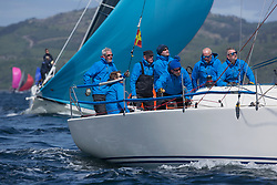 Clyde Cruising Club's Scottish Series 2019<br /> 24th-27th May, Tarbert, Loch Fyne, Scotland<br /> <br /> Day 1 - Perfect conditions to start the 45th Series.<br /> <br /> GBR9470R, Banshee, Charlie Frize, CCC, Corby 33.<br /> <br /> Credit: Marc Turner / CCC