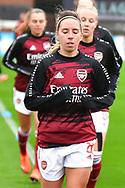 Jordan Nobbs during the FA Women's Super League match between Arsenal Women FC and Bristol City Women at Meadow Park, Borehamwood, United Kingdom on 4 October 2020.