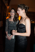 AMY GILLIAM; HOLLY GILLIAM, The Secret Winter Gala in aid of Save the Children and sponsored by Bulgari. Guildhall. London. 26 November 2013
