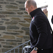 England Captain Mike Tindall leaving the team hotel in Queenstown as the England team depart for their match against Georgia in Dunedin during the IRB Rugby World Cup tournament.  Queenstown, New Zealand, 16th September 2011. Photo Tim Clayton...