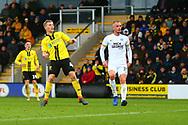 Burton Albion midfielder Jamie Allen (4) scores a goal and celebrates 2-1 during the EFL Sky Bet League 1 match between Burton Albion and Peterborough United at the Pirelli Stadium, Burton upon Trent, England on 27 October 2018.