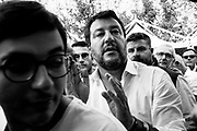 Lega political party leader Matteo Salvini takes part at Atreju 2019 on September 20, 2019 in Rome, Italy. Christian Mantuano / OneShot