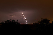 Lightning Storm. Photographed in Israel