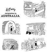 Larry Emigrates to Australia