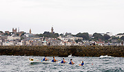 St Peter's Port, Guernsey, CHANNEL ISLANDS,   Killorglin Ladies 4's, [winners on both days at the Coastal Rowing  Rowing championships] from the Killorglin Rowing Club, IRELAND.  2006 FISA Coastal Rowing  Challenge,  02/09/2006.  Photo  Peter Spurrier, © Intersport Images,