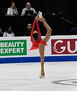 Elizabet Tursynbaeva - Silver Medalist Representing Kazakhstan during the ISU - Four Continents Figure Skating Championships, at the Honda Center in Anaheim California, February 5-10, 2019