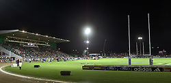 A general view of Arena Manawatu during the Super 12 rugby union match between the Hurricanes and the Stormers at Arena Manawatu, Palmerston North, New Zealand on Friday 25th March, 2005. The Hurricanes won the match 12-9. Photo: Marty Melville/Photosport....119018