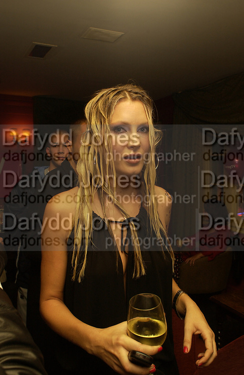 Caprice, , Party after Funny women comedy stage gala event held at Soho House. 13 October 2002. Caprice,