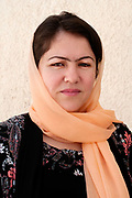 Afghanistan. Fawzia Koofi, 35, MP (Member of Parliament) and presidential candidate 2014, Kabul/Badakshan. Kabul, Afghanistan.
