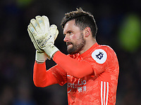 Football - 2019 / 2020 Premier League - Brighton & Hove Albion vs. Watford<br /> <br /> Watford's Ben Foster, at the Amex Stadium.<br /> <br /> COLORSPORT/ASHLEY WESTERN
