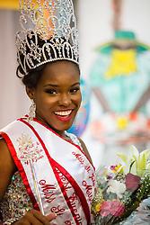 2015 St. John Festival Queen, Contestant #3 Shanell Harney.  St. John Festival Queen: 2015.  Winston W. Wells Ball Field.  St. John, Virgin Islands.  21 June 2015.  © Aisha-Zakiya Boyd