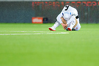 Fotball , Eliteserien<br /> 28.12.2020 , 20201228<br /> Mjøndalen - Sogndal<br /> Sogndals Axel Kryger etter kampen<br /> Foto: Sjur Stølen / Digitalsport