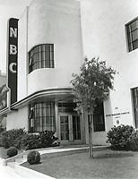 1954 NBC Radio on Melrose Ave.