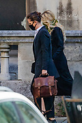 July 10, 2020, London, England, United Kingdom: Amber Heard, the ex-wife of Johnny Depp arrives at the High Court in London, on Friday, July 10, 2020 - where the US actor Depp and his ex-wife Heard has been giving evidence during a hearing over the last week in his libel case against the publishers of The Sun and its executive editor, Dan Wootton. (Credit Image: © Vedat Xhymshiti/ZUMA Wire)