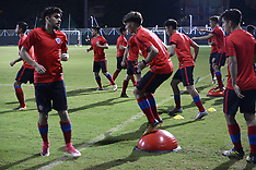 Chile football team practice - 10 October 2017