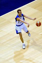 06-09-2006 BASKETBAL: NEDERLAND - SLOWAKIJE: GRONINGEN<br /> De basketballers hebben ook de tweede wedstrijd in de kwalificatiereeks voor het Europees kampioenschap in winst omgezet. In Groningen werd een overwinning geboekt op Slowakije: 71-63 / Sander van der Holst<br /> ©2006-WWW.FOTOHOOGENDOORN.NL