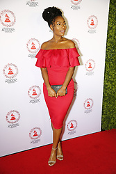 LOS ANGELES, CA - SEP 20: Linda Elaine  attends The Latin GRAMMY Acoustic Sessions at The Novo Theater September 20, 2017, in Downtown Los Angeles. Byline, credit, TV usage, web usage or linkback must read SILVEXPHOTO.COM. Failure to byline correctly will incur double the agreed fee. Tel: +1 714 504 6870.
