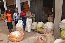 Jan. 7, 2016 - Enugu, Nigeria - Traders seen a a water melon fruit market in Enugu, Nigeria  (Credit Image: © Next24online/NurPhoto via ZUMA Press)
