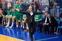 Ales Pipan, head coach of Zlatorog during 2nd Leg basketball match between KK Helios Suns and KK Zlatorog Lasko in Final of Nova KBM Champions League  2015/16, on May 31, 2016 in Hala Komunalnega centra, Domzale, Slovenia Photo by Vid Ponikvar / Sportida
