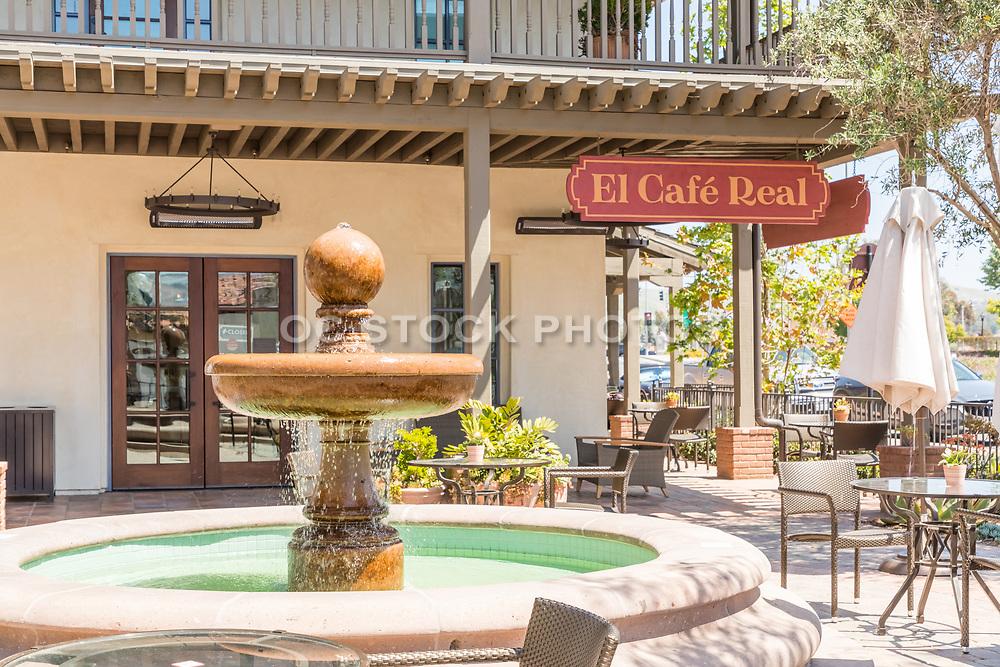 Outdoor Dining at El Cafe Real San Juan Capistrano