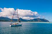 Kaneohe Bay, Ohu, Hawaii