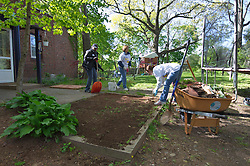 Gardening - There's No Place Like Home, New Haven CT.